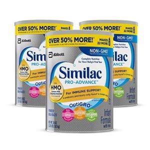 48瓶液体奶低至$37.79 包邮Similac 婴幼儿非转基因配方奶粉特卖,低至6.5折+额外9.5折