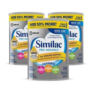 Go & Grow 36oz大容量$12.8/罐Similac 婴幼儿非转基因配方奶粉特卖,低至5.5折+额外9.5折