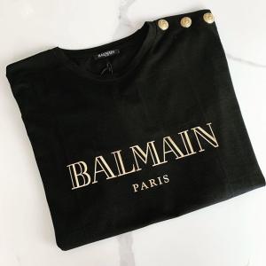 无门槛7.5折Balmain 精选美衣热卖 收经典排扣logo上衣
