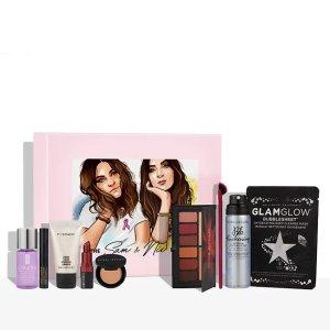 含Bobbi Brown口红+修容、Smashbox眼影盘、Glamglow面膜美妆礼盒(价值£90)