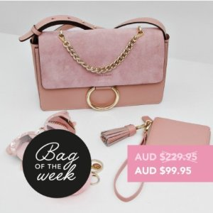 99.95(原价$229.95)Belle&Bloom 封面款美包促销