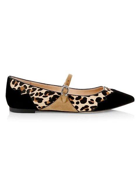x Tabitha Simmons 豹纹单鞋