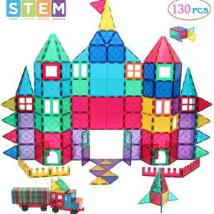 Manve Magnetic Building Blocks Tiles Toy