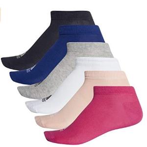$11.48起(原价$22)Adidas 男女同款袜子 6只装