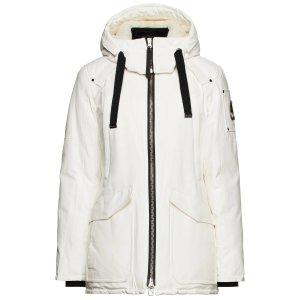 Moose KnucklesArthurette 白色羽绒服