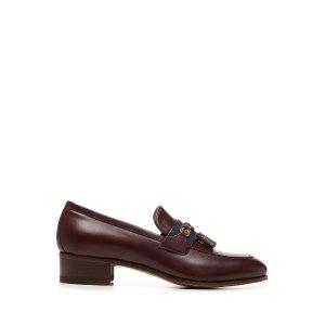 Gucci美国官网$850Web Interlocking G乐福鞋