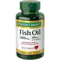 Nature's Bounty Omega-3 鱼油 1200 mg, 320粒