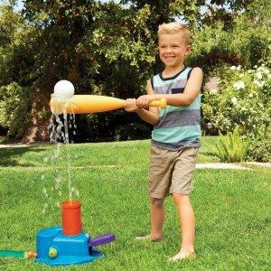 Little Tikes 3合1 棒球擊球套裝,可玩水