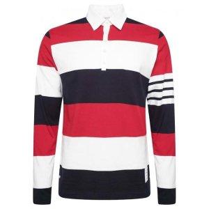Thom Browne长袖polo衫