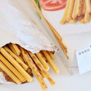 $2.45终于补货!Glico 日本PRETZ百力滋番茄沙律饼干棒,根本停不了口,4小包装