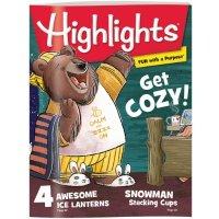 Highlights 6-12岁杂志3本