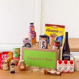 5折起 封面仅需€7.99收!喜欢拆盲盒的感觉?订阅零食、有机蔬果礼盒 还有自制寿司盒