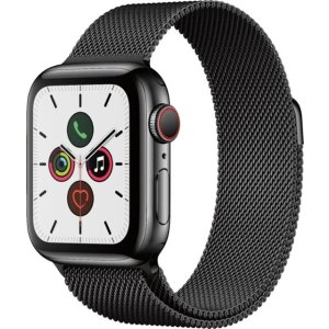 AppleApple Watch Series 5 (GPS + Cellular) 40mm- Space Black Stainless Steel