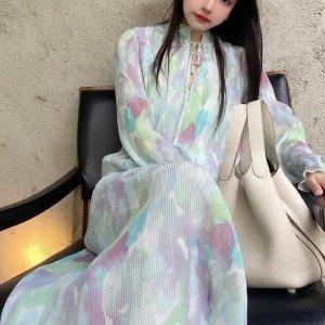 5折起+叠9折 €134收封面同款Ganni 仙女裙热卖专场 超级飘逸雪纺裙、碎花裙等 款式全