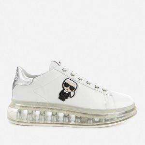 Karl Lagerfeld满$365享75折水晶底小白鞋