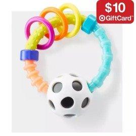 满$50送$10礼卡婴幼儿玩具热卖  很多经典款式都参加