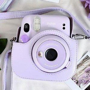 $79.99(原价$89) 多色可选Fujifilm Instax Mini 11 新款拍立得 新增自拍模式