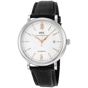 IWCPortofino Automatic Silver-plated Dial Men's Watch