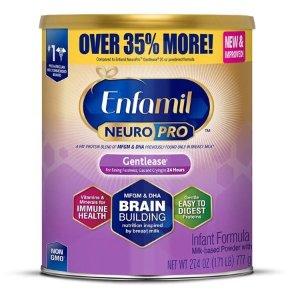 EnfamilNeuroPro Baby Formula, 27.4 oz Powder Value Can