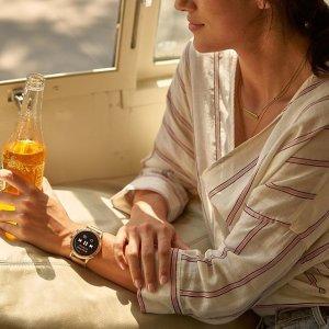 全系列7折 €118起收Fossil 男女智能腕表系列 传统经典外观与智能便利的结合