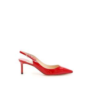 Jimmy Choo红色中跟鞋