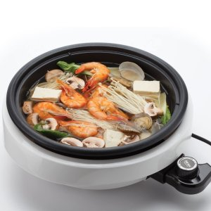 Aroma Housewares 3-Quart 3-in-1 Super Pot with Grill Plate