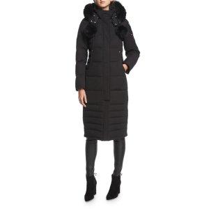 Moose KnucklesGet $300GCSaskatchewan Zip-Front Quilted Puffer Coat w/ Pompoms