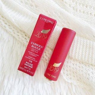 颜值与妆效起飞!我找到了中国红的正确打开方式!|Lancome菁纯玫瑰限量唇膏试色看过来❤