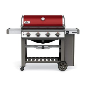 $699Weber 62030001 Genesis II E-410 Liquid Propane Grill, Crimson