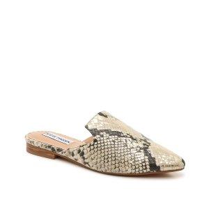 Steve Madden蛇纹穆勒鞋