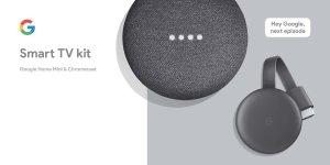 $49Google Home Mini + Chromecast套装