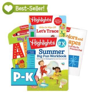 4折起 包邮Highlights 暑期趣味学生练习册促销
