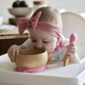 6折+无税 勺子还可以当咬咬胶Avanchy 儿童有机竹制餐具特卖 环保从娃娃做起,远离塑制品