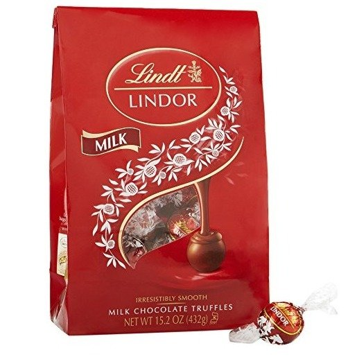 Lindt Lindor 牛奶松露巧克力 15.2oz
