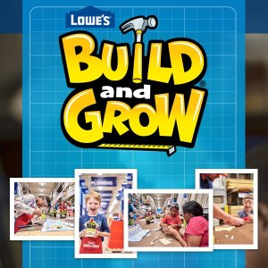 Free! Bulit a Haunted HouseComing Soon: Lowes Bulit and Grow Activity on Oct 19th, 2019