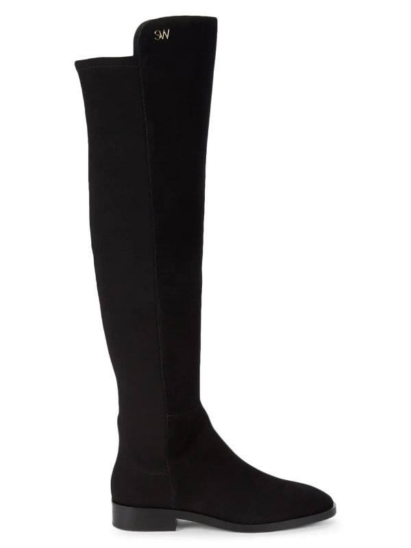 Keelan 麂皮过膝靴