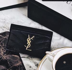 9折+退17% VAT税Burberry MCM YSL等女式钱包,卡包超值热卖 实用与颜值兼备