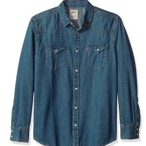 $28.8 (原价$43.99)Levi's 精选男士牛仔衬衫热卖