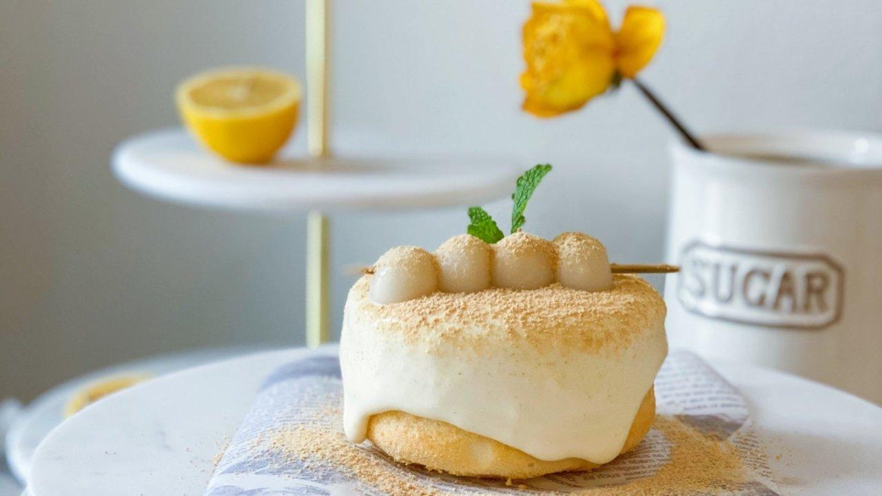 🔥治愈系甜品 |日式鲜豆乳蛋糕 ,在家也能拥有满口豆乳香的快感❗️❗️