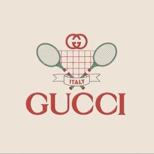 低至5折 £326收新款小白鞋Gucci 私密大促开启 超多款式 经典小白鞋、GG系列都有