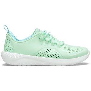 CrocsLiteRide™ 大童运动鞋  薄荷色