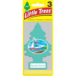 LITTLE TREES air freshener Bayside Breeze 3-Pack - Walmart.com
