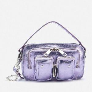 Nunoo独家款紫色斜挎包