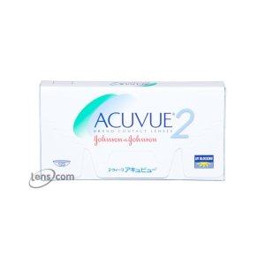 Acuvue透明周抛隐形眼镜