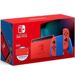 $399.99, 2月12日发售新品上市:任天堂 Switch 新品 马里奥红蓝主机