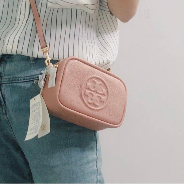 粉色mini相机包