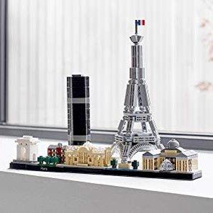 包邮 满额送3份礼上新:LEGO官网 建筑系列套装热卖,巴黎、旧金山新到