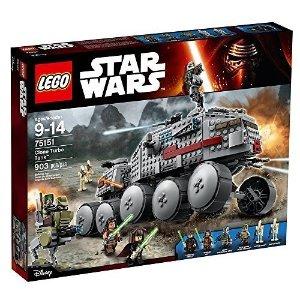 Lego星战克隆涡轮坦克 903颗粒