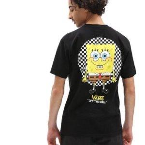 VansX 海绵宝宝 棋盘格T恤