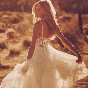 低至0.6折 $99起David's Bridal 仙女婚纱礼裙大促 Vera Wang参加